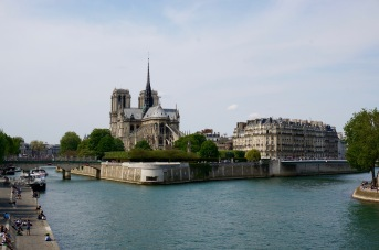 The back of Notre Dame