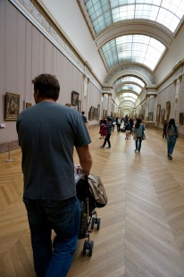 Strolling the Louvre
