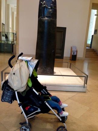 Asleep by the Code of Hammurabi.